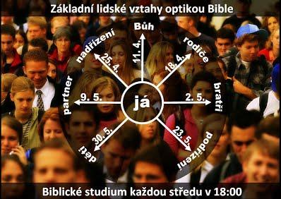 biblické hodiny - letáček