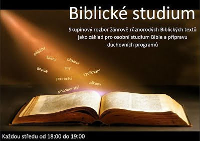 letáček biblická